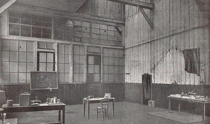 Marie-Curie-instalaciones